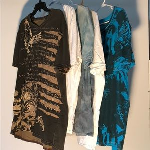 DKNY Men's Graphic Tee Lot. Size XL